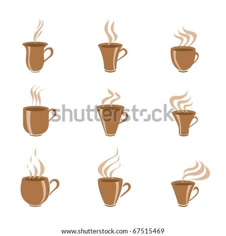Vector Coffee Elements - stock vector