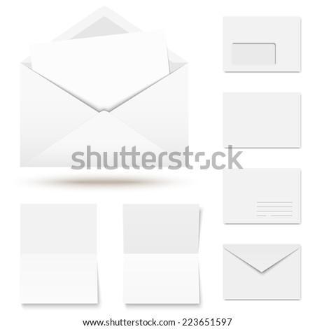 large Envelope Photos RoyaltyFree Images Vectors – Colored Writing Paper