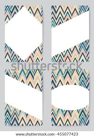 Vector Collection Design Templates Business Card Stock Vector Hd