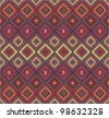 Vector collection of ethnic background. Folk patterns. - stock vector