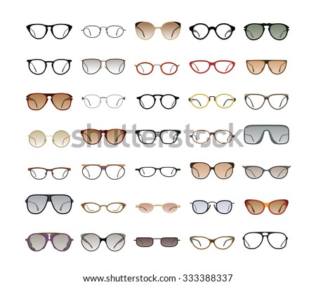 Different Types Of Glasses Frames Names : Eyeglasses Stock Images, Royalty-Free Images & Vectors ...