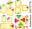 Vector collection of sale banners. Great collection. - stock vector