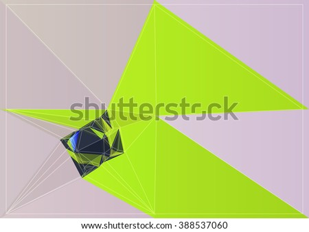 vector color abstract background art colorful shape