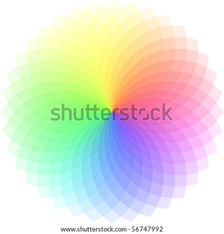 vector color spectrum - stock vector