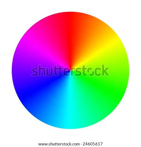 Vector Color Spectrum Wheel