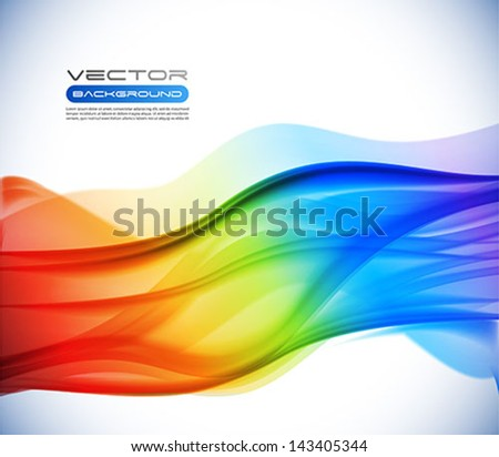 Vector colorful abstract background - stock vector