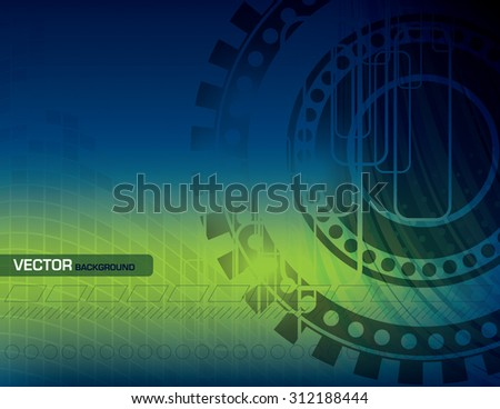 Vector Colorful Abstract Background. - stock vector