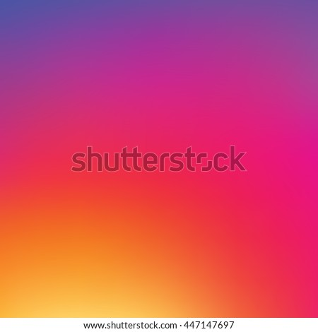 Vector colorful background in new social style, colorful background template, pattern, wallpaper, popular social network, inspired by instagram new logo