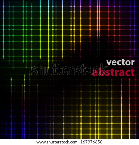 vector colorful geometric background