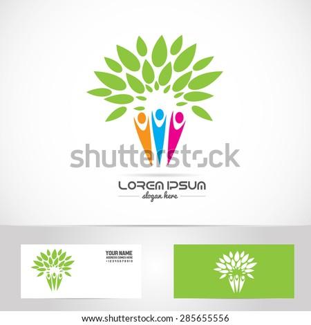 Vector Company Logo Element Template Family Stock Vector 285655556