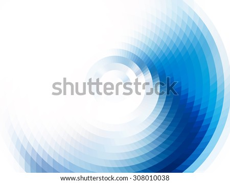 vector composition with grid, tiles, gradient effect - stock vector