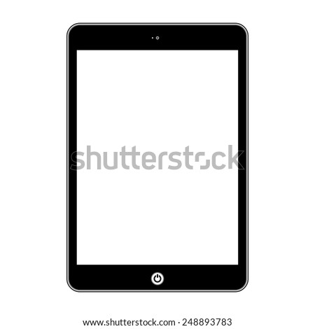 Vector computer tablet.  Illustration Similar To iPad
