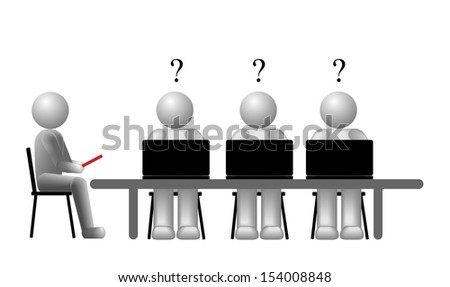 vector concept team education, eps10 file, transparency used, raster version available - stock vector