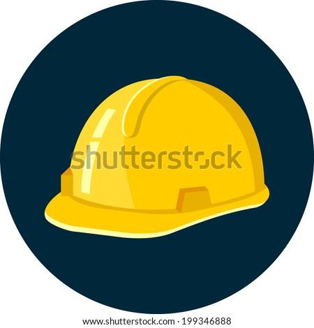 Vector Construction Helmet - stock vector