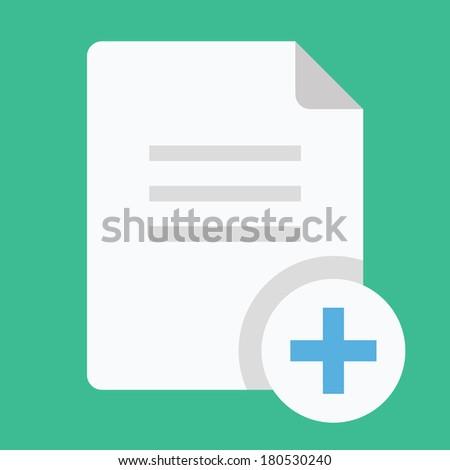 Vector Copy Document Icon - stock vector