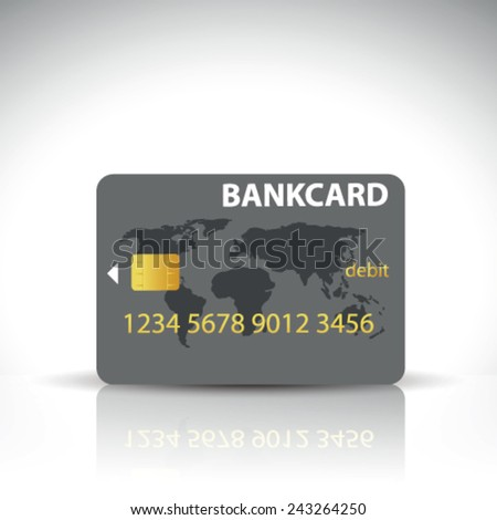 Vector Credit Card - stock vector