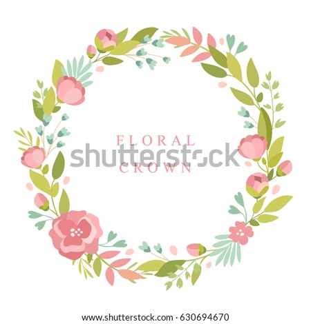 flower crown stock images royaltyfree images amp vectors