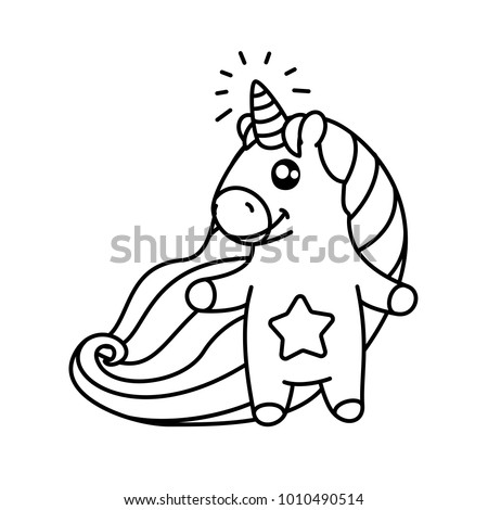 Unicorn Color Stock Images RoyaltyFree