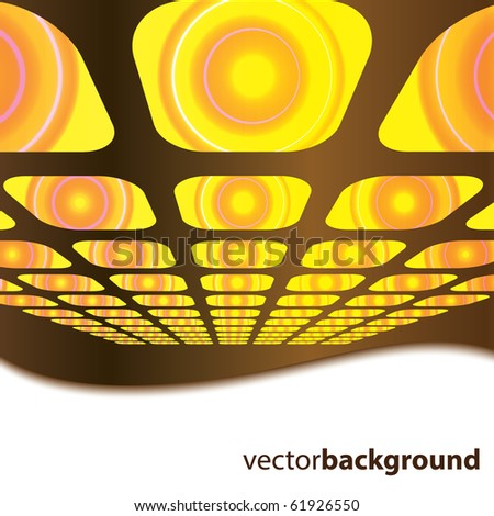 Vector 3D square vector background