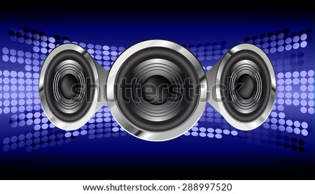 vector dark blue sound wave, abstract pulse background. speaker. music. infographics. Technology background for computer graphic website internet and business. loudspeaker