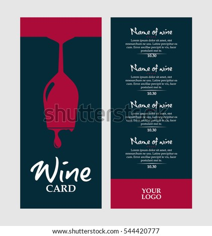 Wine List Stock Images, Royalty-Free Images & Vectors | Shutterstock