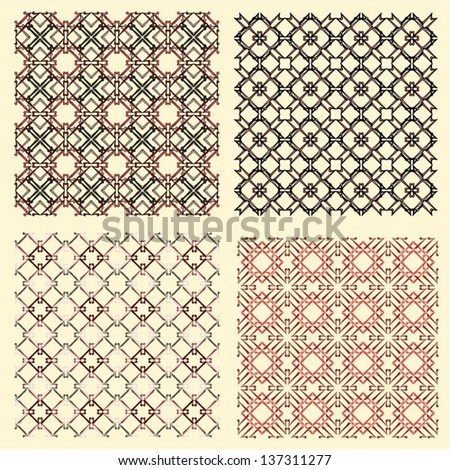 Vector decorative pattern for wallpapers and wrapping papper