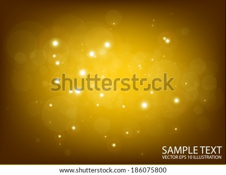 Vector deep space flares background  template - Shiny glittering background  illustration - stock vector