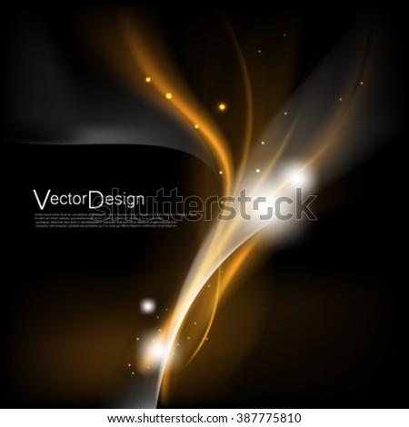 Vector Design Background - stock vector