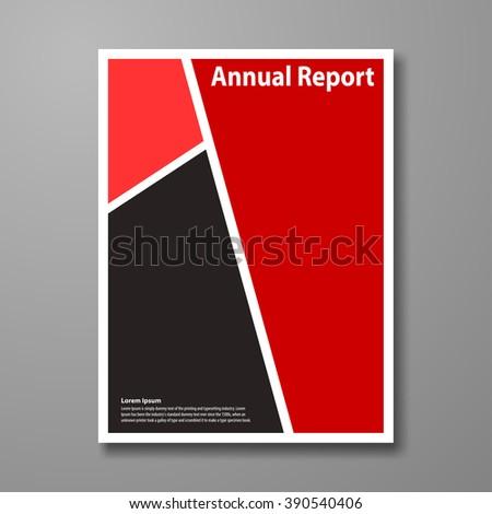 Vector Design Brochure Cover Flyer Template Stock Vector 390540406