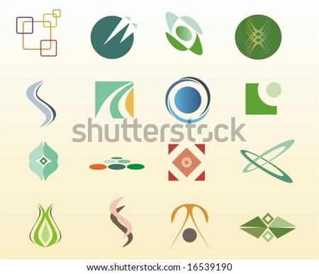 vector design elements - stock vector