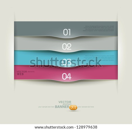 Vector design elements for business - stock vector