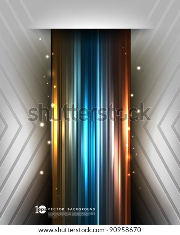 Vector Design - eps10 Abstract Background - stock vector