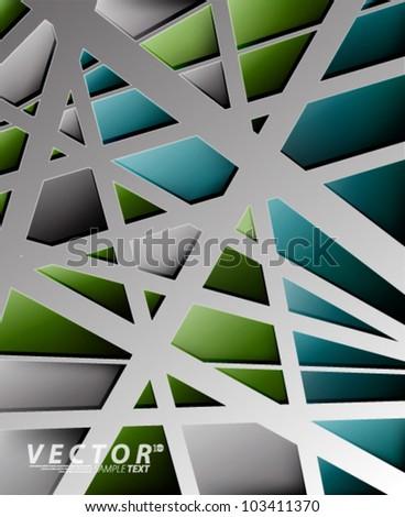 Vector Design - eps10 Birds Nest Concept Background - stock vector