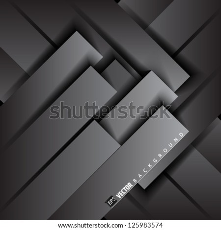 Vector Design- Eps10 Geometric Rectangles Background