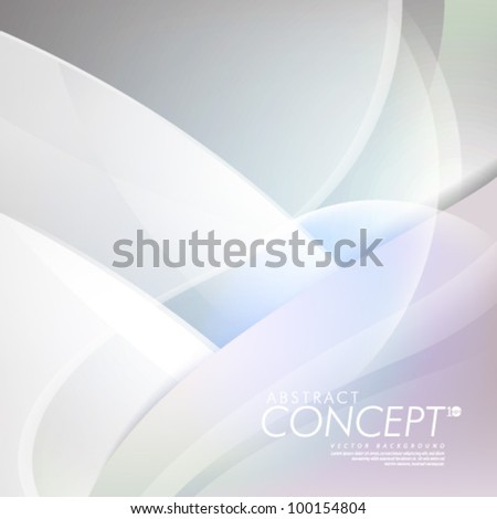 Vector Design - eps10 Smooth and Simple Concept Background