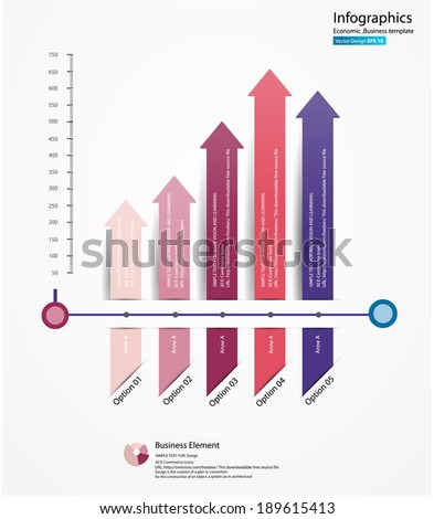 Vector Design - eps10 Template for your business presentation, Design vector Infographics Chart