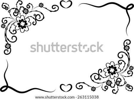 Border Designs In Black And White Romefontanacountryinncom