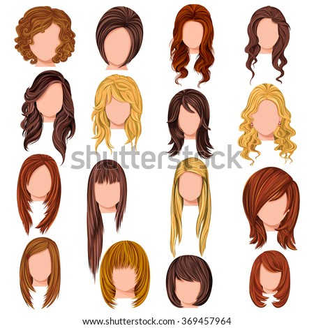 hairstyle stock images royaltyfree images amp vectors