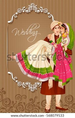 Of marriage bride bridegroom wedding
