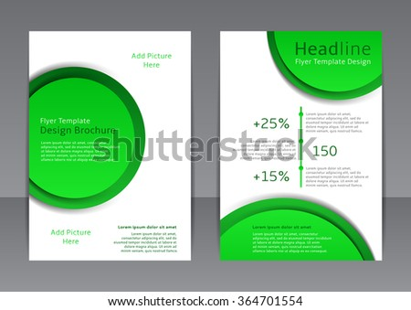 Vector Business Brochure Flyer Template Stock Vector