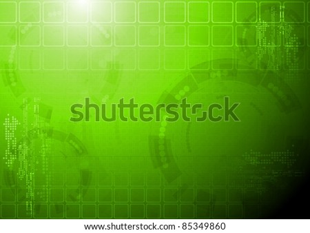 Vector design. Tech background. Eps 10 - stock vector