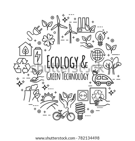 Vector design template. Eco lifestyle, zero waste concept, recycle and reuse for your design