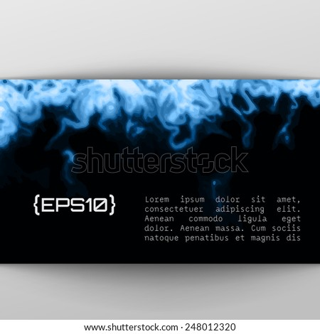 blue paint black vector design template abstract purple blue stock vector 249354118