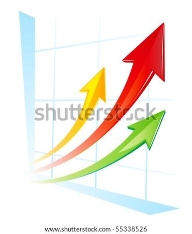 vector diagram - stock vector