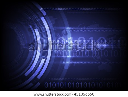 vector digital global technology, abstract background