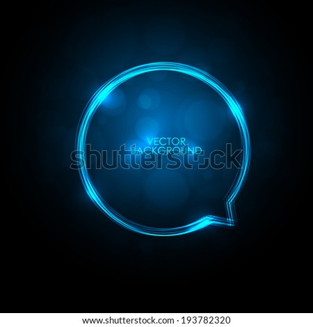Vector Digital Glossy Sphere.  Abstract Background - stock vector