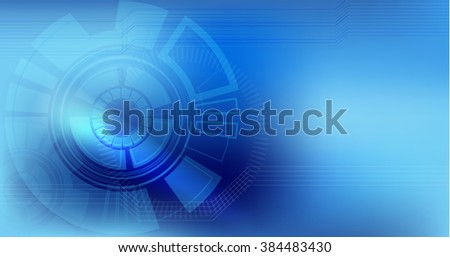 vector digital technology concept, abstract background