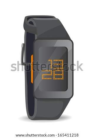 Vector digital watch