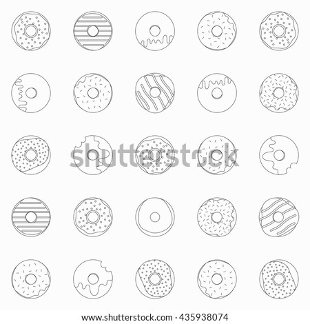 Donut Pattern Stock Images, Royalty-Free Images & Vectors ...