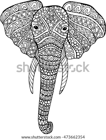Elephant Sketch Stock Images Royalty Free Images